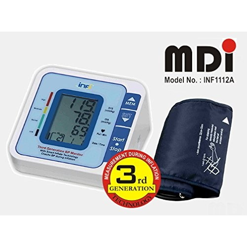 INFI INF1112A 3rd Generation Digital BP Monitor with MDI Technology from Oertel GbR Germany