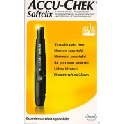 Accu Chek Softclix Lancing Device (Multicolor)