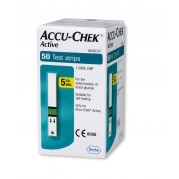 Accu Chek Active Strips, Pack of 50 (Multicolor)