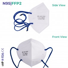 CAREVIEW CV1221H  N95 | FFP2 Headloop Mask - FDA, DRDO & CE certified with 6 Layered Filtration