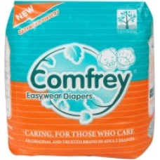Comfrey Adult Pant type Easy Wear Diapers XLarge - 10's Size 35inches to 47inches