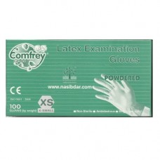 Comfrey Latex Examination Gloves