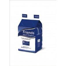 Friends Adult Diapers - Basic - Extra Large (48-68 Inches, 121.92 - 172.72 cms)
