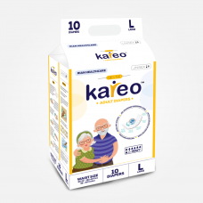 Kareo Adult Diapers - Large (38-60 inches, 96.52 - 152.40 cms)