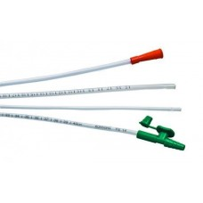 ROMSONS SUCTION CATHETER WITH CONNECTOR (PLAIN) FOR REMOVAL OF SECRETIONS - FG 10