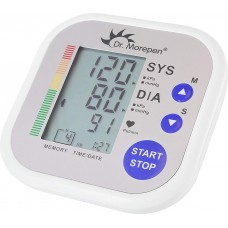 Dr. Morepen BP02 Digital Blood Pressure Monitor (White)