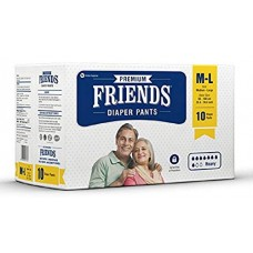 Friends Adult Pullups - 10 Count