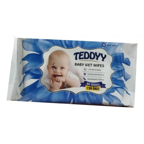 Teddy Baby Wipes