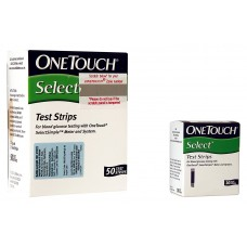 Johnson Johnson One Touch Select Simple, 50 Strips Box (Multicolor) with Free 10 Strips Box