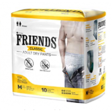 Friends Adult Classic Diapers  Pants Medium  25-48 inches