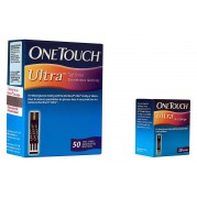 Johnson & Johnson One Touch Ultra Easy Test, 50 Strips Box (Multicolor)