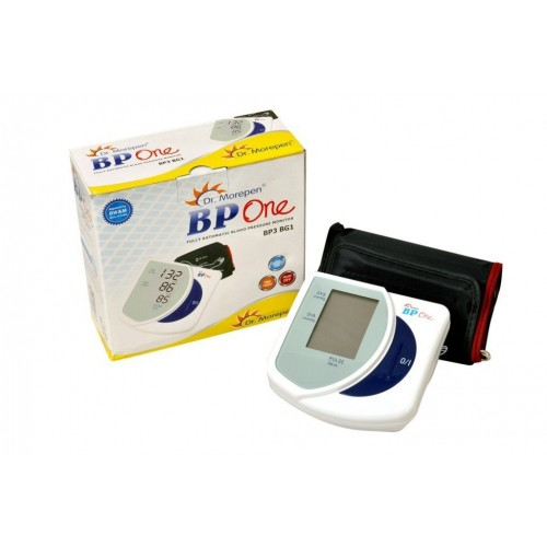 Dr. Morepen BP One BP3BG1 Blood Pressure Monitor