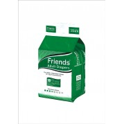 Friends Adult Diapers - Basic - Large (38-60 inches, 96.52 - 152.40 cms)