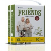 Friends Adult Diapers - Easy - Extra Large (48-68 Inches, 121.92 - 172.72 cms)