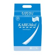 "KareMed Adult Diapers - Medium (30""- 45"")"