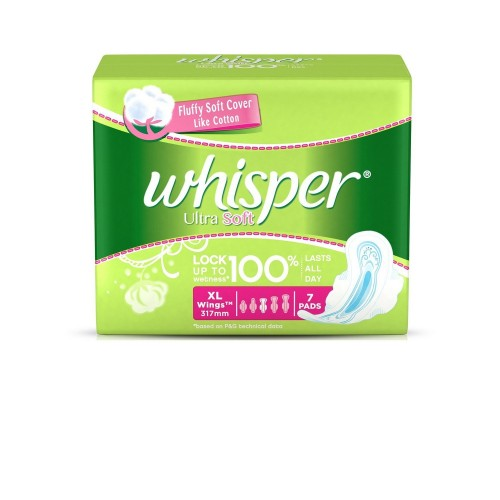 Whisper Ultra Soft Sanitary Pads